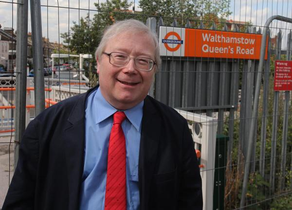 The BGORUG campaigned for over 20 years for a public footpath between Walthamstow's two stations