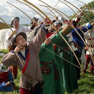 The Medieval Siege Society will be giving weaponry displays. Picture: Pauline Cload