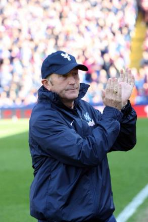 One target: Tony Pulis wants to keep Palace in the Premier League.... simple