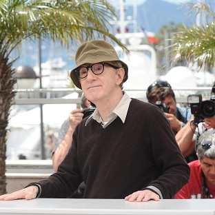 A man was arrested where Woody Allen is shooting his new f