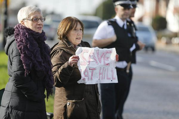 The Cat Hill protest has rumbled on for four years