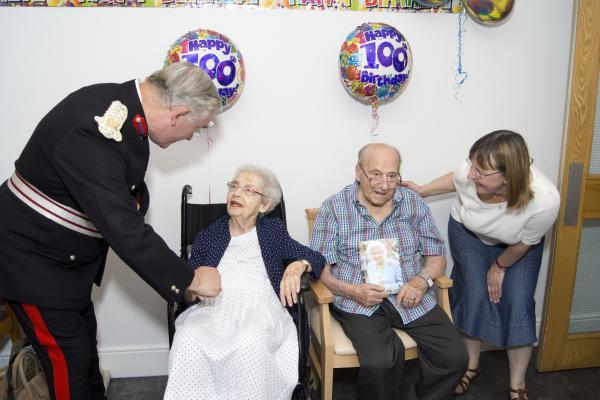 'Remarkable' 100-year-old's celebrate birthday