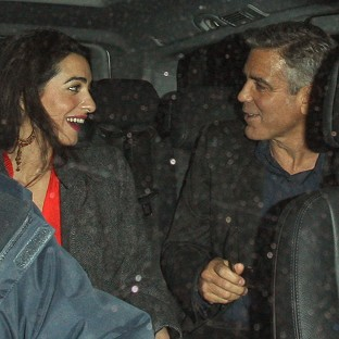 George Clooney has posted his wedding banns with Amal Alamuddin at Kensington and Chelsea register office (Rex)