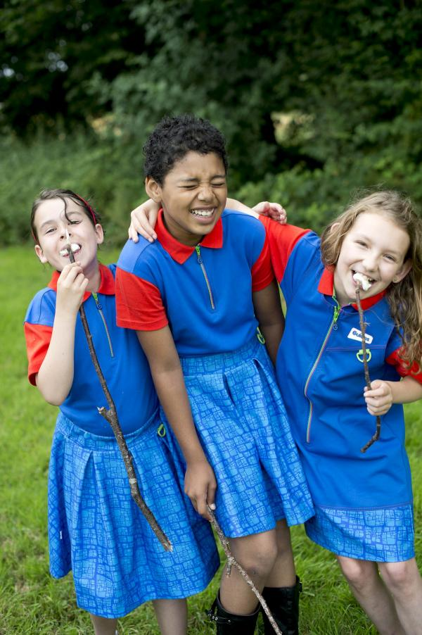 Former Waldegrave girl has hand in designing body-confident Girl Guide uniform