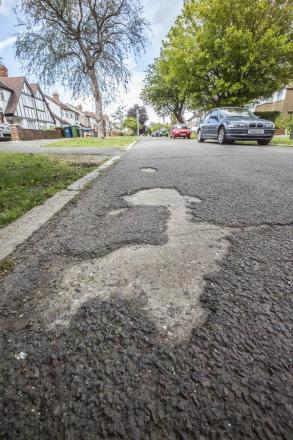 Eleven-year-old girl raises concerns about her 'neglected road'