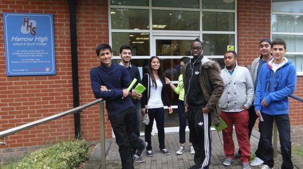 Pupils congratulated for hard work on results day