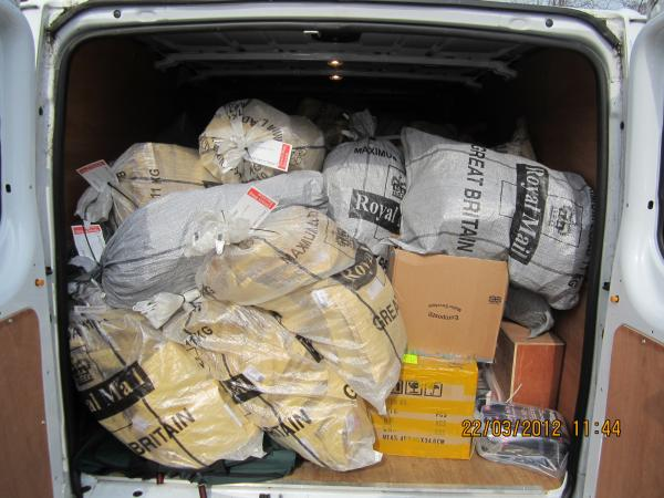 Salimi flogged a van-load of fake 'as seen on TV products.'