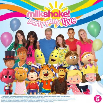 Kids favourites come together for Milkshake Live show in Catford