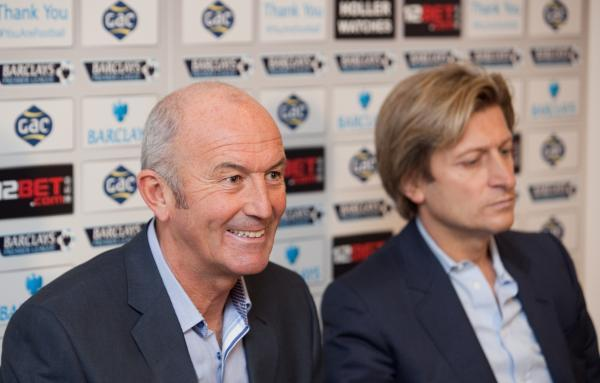 Tony Pulis is unveiled by Steve Parish as Ian Holloway's replacement