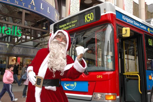 Christmas park and ride from Chessington to Kingston to be scrapped
