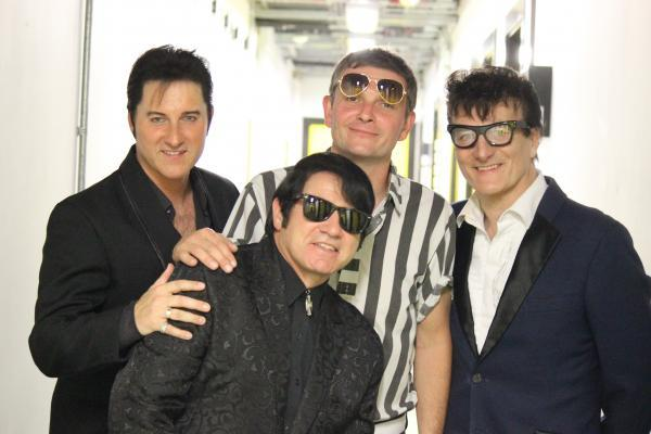 Tribute acts: Elvis Presley, Roy Orbison, Jerry Lee Lewis and Buddy Holly