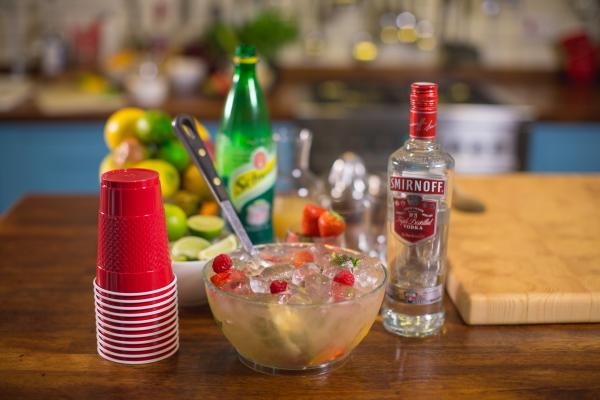 COCKTAIL: Smirnoff Summer Punch