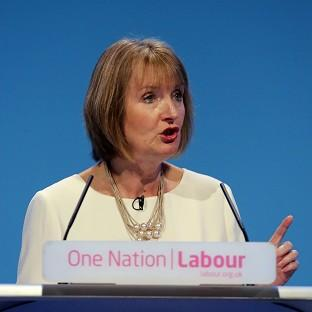 Harriet Harman is to highlight a drop in membership income for the Tories in 14 of their 20 most margi