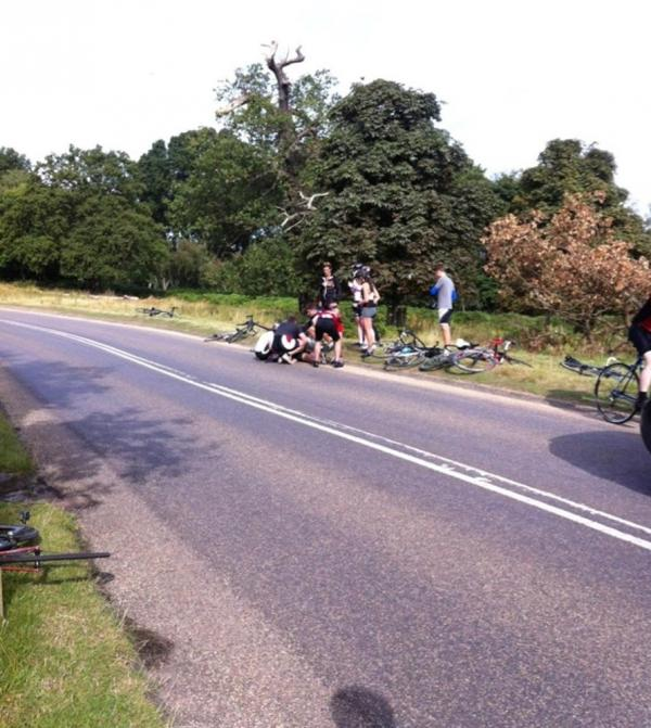 Cyclist dies after falling in Richmond Park