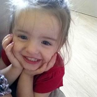 Trinity Liliana Coward died after a fire surround fell on her in her home (Norfolk