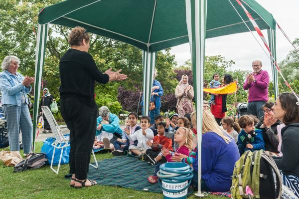 Storytelling show raises money for museum project