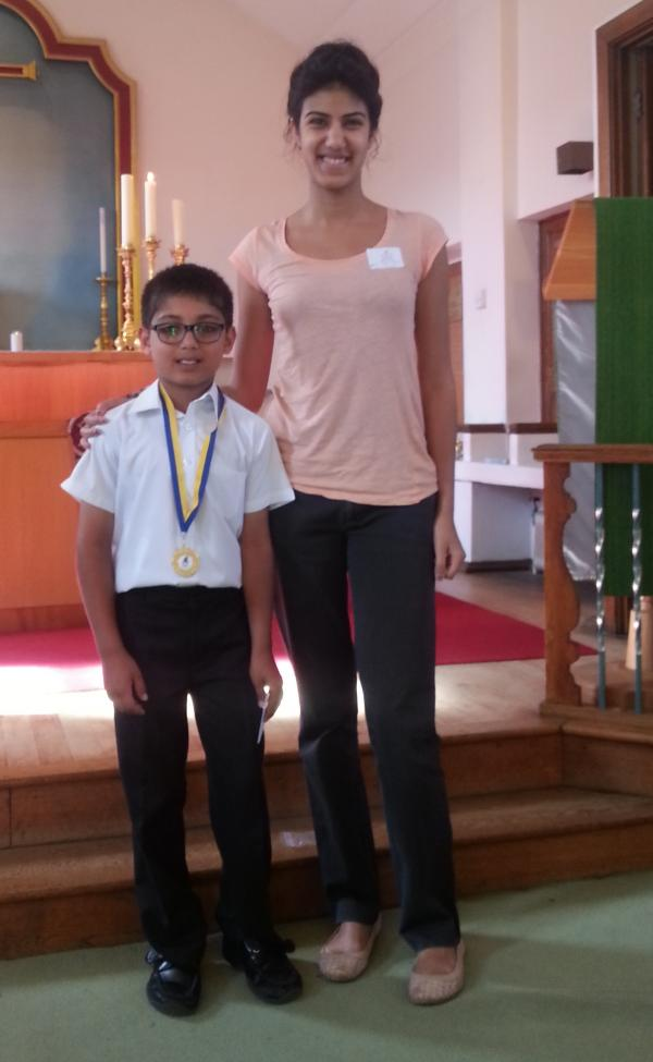 Eleven-year-old runner-up in national writing competition