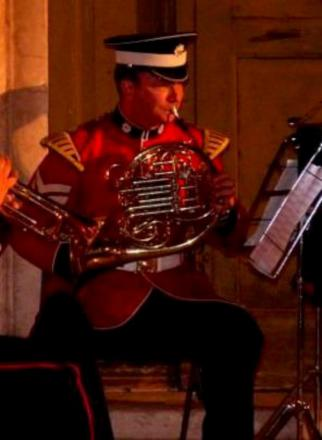 Sergeant Stones: Plays French horn