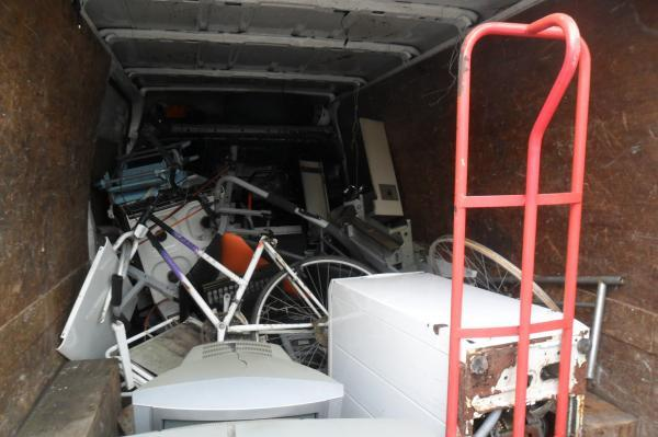 Tottenham scrap collector prosecuted under strict new laws