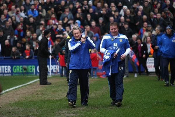 Old friend: Neil Warnock was last at Selhurst Park in March 2013 as manager of Leeds United