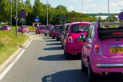 The Pink Car Rally is next weekend