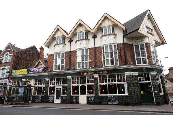 The Heathcote Arms in Leytonstone has been sold