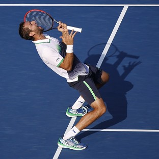 Cilic takes long road back to semis
