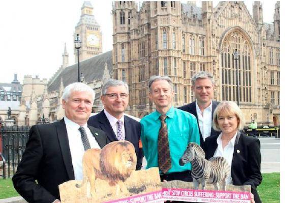 Zac Goldsmith backs campaign to end wild animal circus performances