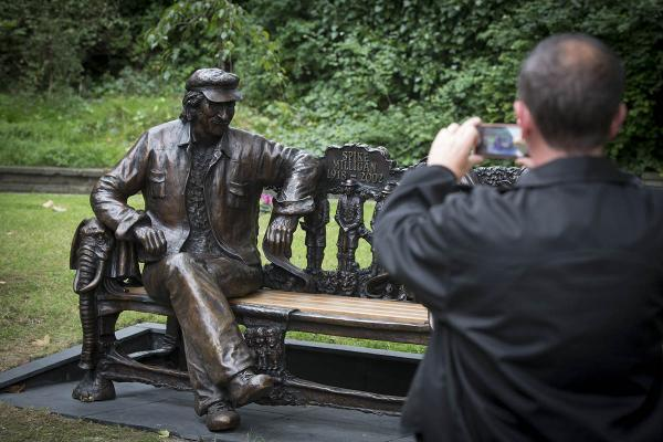 Spike Milligan statue unveiled