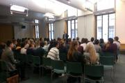 Students from St Dominic's Sixth Form College joined MP Bob Blackman for a tour around Parliament