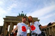 Brothers complete war memorial bike ride for charity