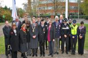 Council and public mark Armistice Day