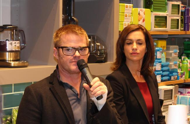 Heston at Bluewater: Christmas turkey tips, why his name's a swear word and his inspirations