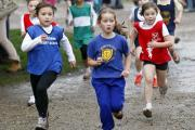 Children taking part in the race at Crystal Palace Park