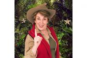 Edwina Currie put the row behind her in the bushtucker trial