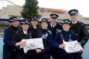 Merton police more than doubled their target of gifts to donate to children in care
