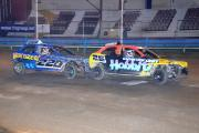Duel: Reece Preistly, right, and Rob Barnes, left, have been neck-to-neck all season in the Winter Banger League