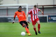 New face: Welling United's Malachi Hudson was a regular for Walton Casuals last term