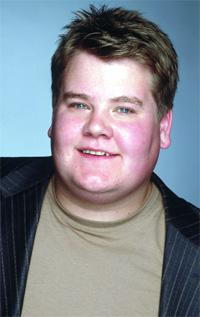 James Corden plays Jamie in the TV series about being a member of the slimming club Count on Carol