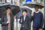 Making the political weather: Shiv Bakrania, Adrian Burbie and Che Appewhaite