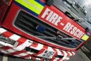 Firefighters from Wallington were called to a house in The Byway to tackle a chimney fire last night