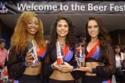 The Crystals cheerleaders were on hand to meet fans at last year's event
