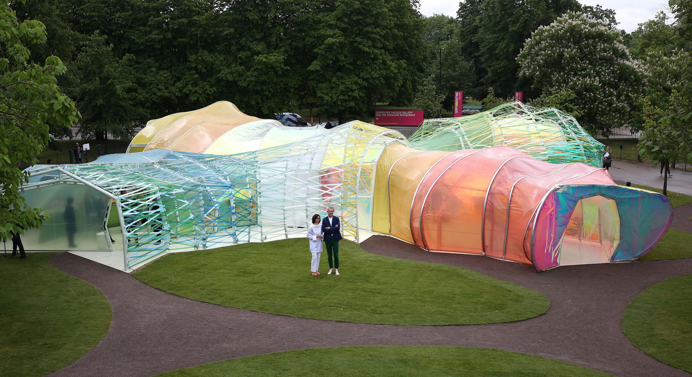 This Is Local London & Serpentine Galleryu0027s new summer pavilion in Kensington Gardens is ...