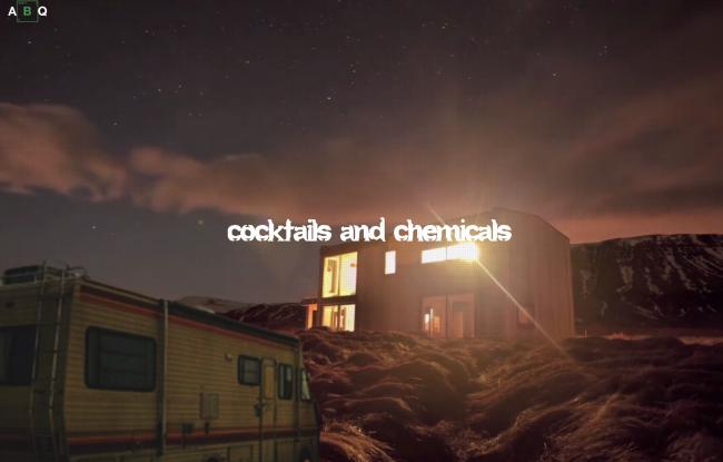 You'll be able to 'cook' up cocktails at the ABQ Breaking Bad-themed bar