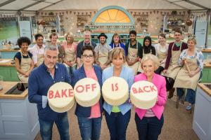 Greenwich firefighter braves the heat in Great British Bake Off kitchen