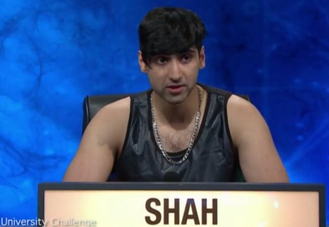 Mr Shah and the much discussed vest on last night's show