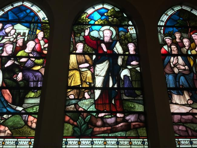 Did this Surbiton church stained-glassed window predict the rise of Jeremy Corbyn?