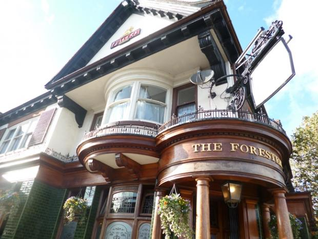 This Is Local London: The Foresters pub, Northfields