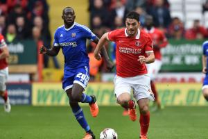 Loaning forward to Cardiff was an 'easy' decision, says Charlton caretaker boss