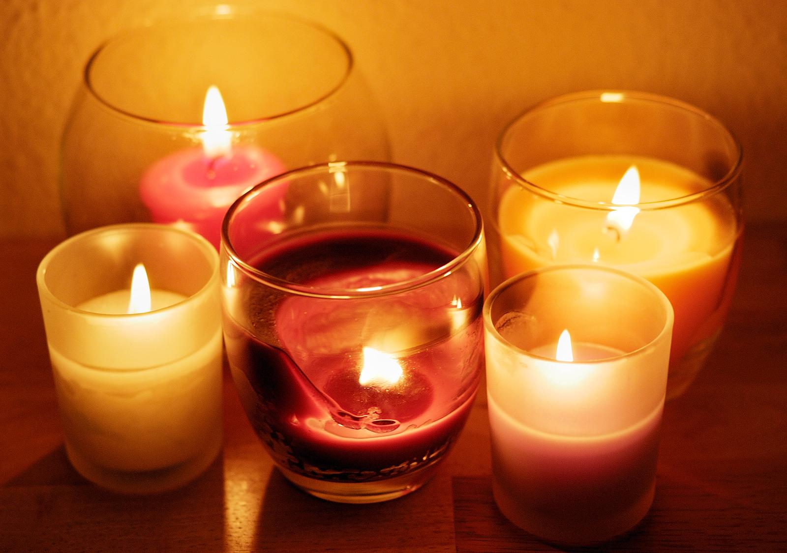 Как сделать арома свечу своими руками